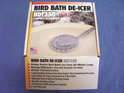 250 Watt Birdbath De-Icer