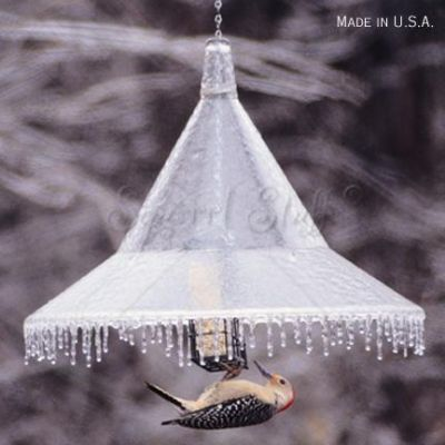 Mandarin Hanging Squirrel-Away Baffle - Clear