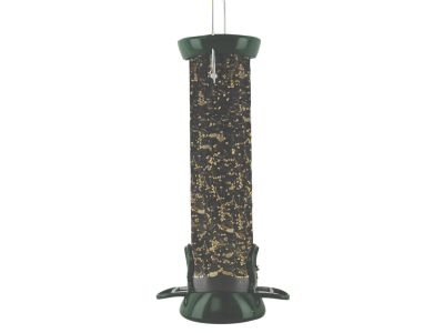 Clever Clean Tube Wild Bird Feeder 12""
