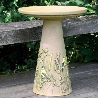 Goldfinch Bird Bath Set