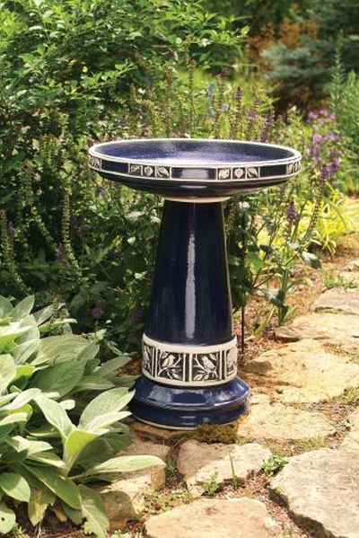 Zanesville Cobalt Blue Glazed (Lock-On Top)
