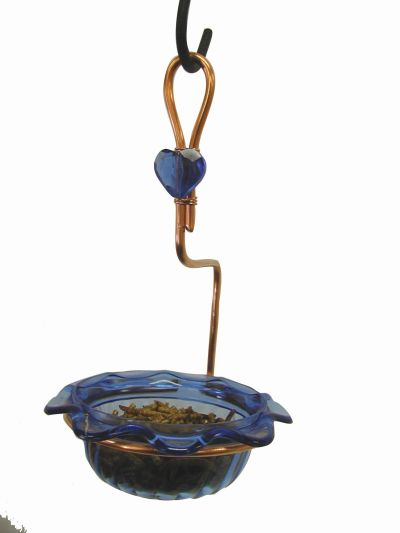Copper Single Cup Bluebird Feeder | Birds Choice #CSC-BLUE