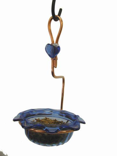 Copper Single Cup Bluebird Feeder | Birds Choice #CSC-BLUE