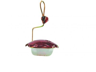 Copper Single Cup Hummingbird Feeder | Bieds Choice #CSC-RED