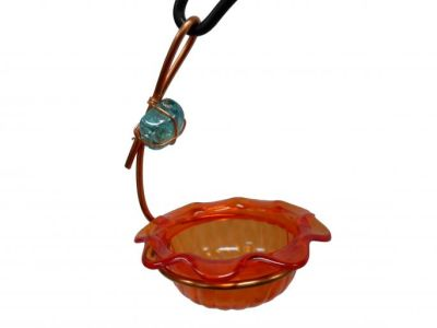 Copper Single Cup Oriole Feeder | Birds Choice # CSC-ORANGE