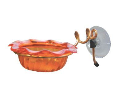 Copper Window-Mount Oriole Feeder | Birds Choice #CWSC-ORANGE