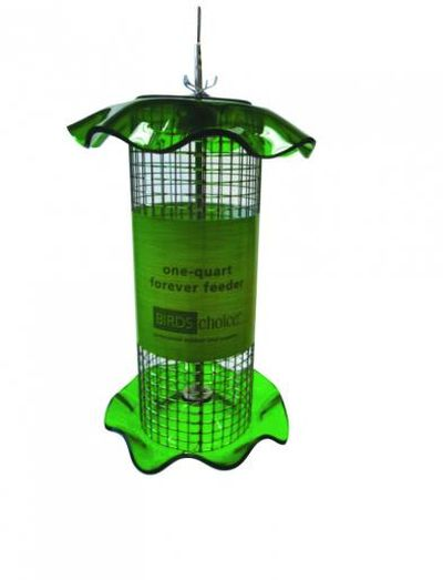 1 Quart Sunflower Forever Tube Feeder-Green | Birds Choice #FF112