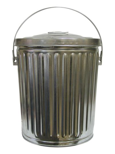 10 Gallon Galvanized Seed Can
