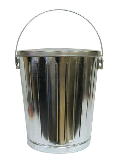 5 Gallon Galvanized Seed Can