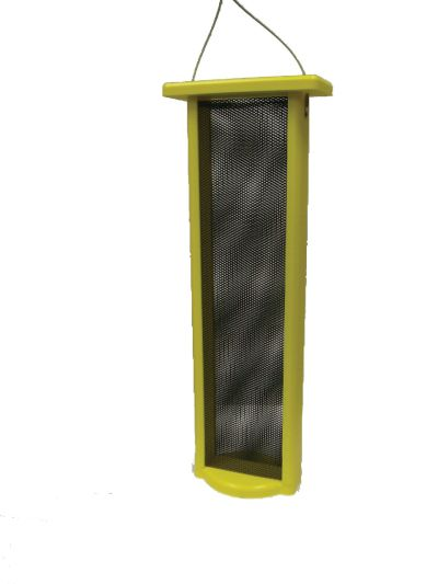 3 Qt. Magnet Mesh-Yellow-Nyjer-Thistle Feeder Birds Choice #SN21NYJER