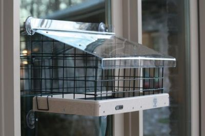 "Recycled 22"" x 9"" Platform, Top & Cage Kit Feeder 