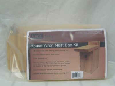 Cedar Wren House Kit-Unassembled Birds Choice #WHKIT
