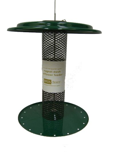 1-1/4 Quart Magnet Mesh Safflower Feeder | Birds Choice #XSAFMINI