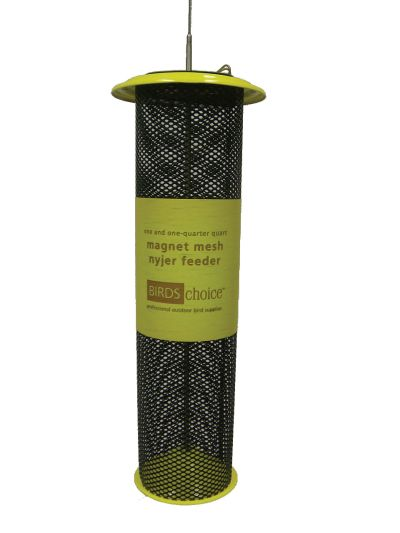 1-1/4 Qt. Magnet Mesh ? Yellow -Nyjer-Thistle Feeder | Birds Choice #XTF32
