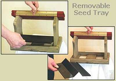 REPLACEMENT SEED SCREEN TRAY FOR BIRDS CHOICE FEEDERS