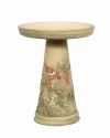 Nesting Wren Bird Bath Set