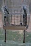 "Recycled Lumber Window Feeder 11"" x 10"" Platform, Top & Cage Kit #SNWMKIT"